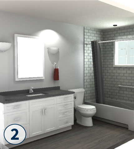 Ordinaire Browse Through Our Bathroom Remodeling Gallery For New Bathroom Ideas.